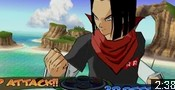 The Two Androids 16 merge into Super 17 in the game DBZ Budokai 3 (Mod).