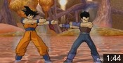 Vegeta GT and Goku fusion mod in Dragon Ball Z Budokai 3.