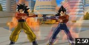 Vegeta GT SSJ4 and Goku SSJ4 Fusion Mod in DBZ Budokai 3.