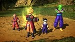 Goku in Naruto Sennin outfit is a bonus character of the game Dragon Ball Z Battle of Z.