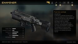 How to change the base ammo count of the game's weapons (Modding tutorial for Deus Ex Mankind Divided).