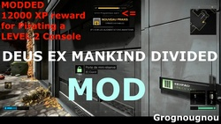 How to change the XP rewards in Deus Ex Mankind Divided (Modding tutorial).