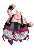 A fat Buu female character from the game Dragonball Xenoverse.