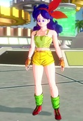 It is possible to create the character Lunch with Dragon Ball Xenoverse's characters editor.