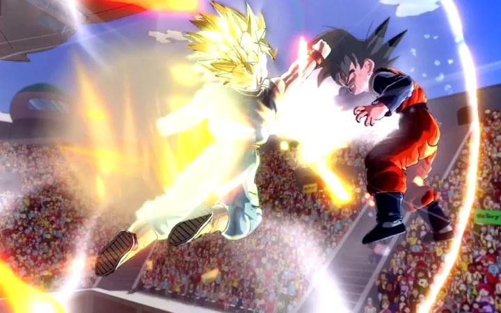 The game Dragon Ball Xenoverse
